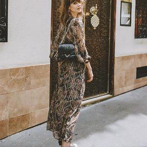 The Kooples Paris, silk printed dress